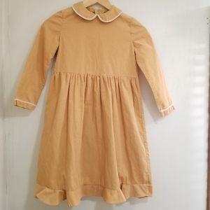 Handmade Corduroy Girls Dress